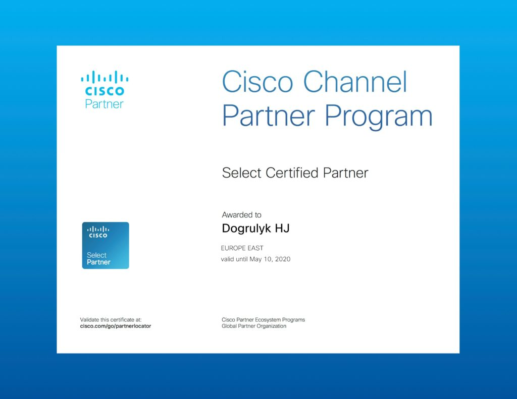 CiscoCertificate